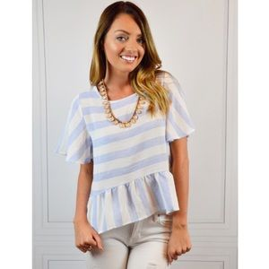 Tops - Love At First Stripe Top